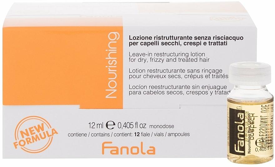 Ampule na restrukturalizaci suchých vlasů - Fanola Leave-In Restructuring Lotion
