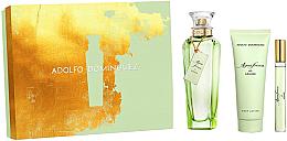 Parfémy, Parfumerie, kosmetika Adolfo Dominguez Agua Fresca de Azahar - Sada (edt/120 ml+ edt/10 ml + b/lot/75ml)