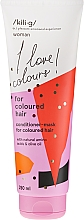 Parfémy, Parfumerie, kosmetika Kondicionér pro barevné vlasy - Kili·g Woman Conditioner For Coloured Hair