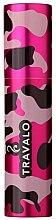 Parfémy, Parfumerie, kosmetika Pouzdro pro atomizér - Travalo Classic HD Case Camouflage Pink