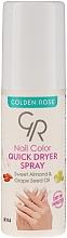 Parfémy, Parfumerie, kosmetika Sušicí sprej na nehty - Golden Rose Nail Quick Dryer Spray