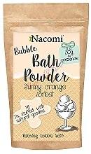 """Parfémy, Parfumerie, kosmetika Pudr do koupele """"Pomerančový sorbet"""" - Nacomi Sunny Orange Sorbet Bath Powder"""