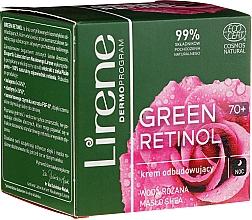 Parfémy, Parfumerie, kosmetika Obnovující noční krém na obličej - Lirene Green Retinol Rebuilding Night Cream