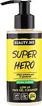 Parfémy, Parfumerie, kosmetika Čisticí gel Super hero - Beauty Jar Low Ph Face Gel Cleanser