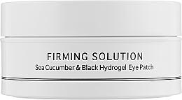 Parfémy, Parfumerie, kosmetika Hydrogelové oční podložky s výtažkem z mořské okurky a práškem z černé perly, standardní velikost - BeauuGreen Sea Cucumber & Black Hydrogel Eye Patch