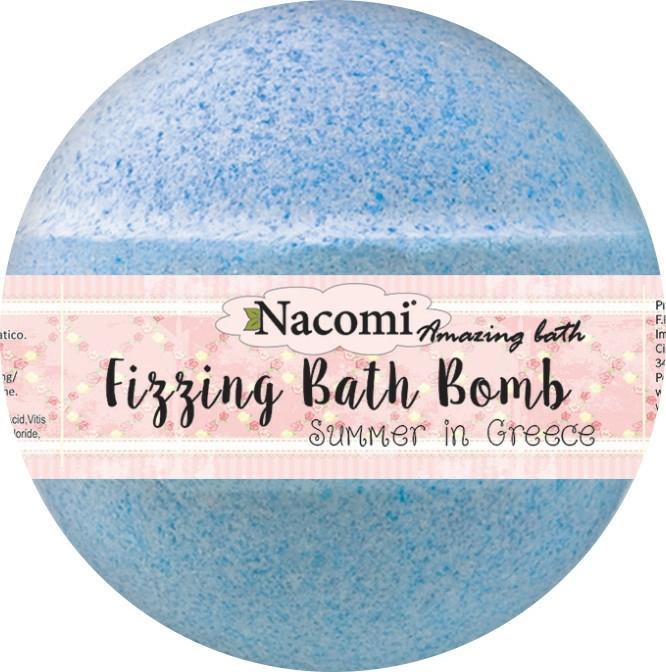 Bomba do koupele - Nacomi Fizzing Bath Bomb Summer in Greece — foto N3