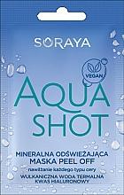 Parfémy, Parfumerie, kosmetika Minerální osvěžující slupovací maska - Soraya Aquashot