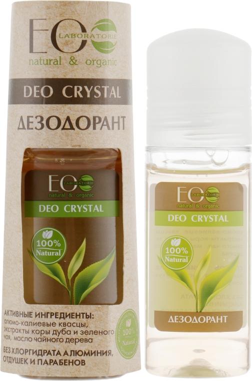 "Tělový deodorant ""Dubová kůra a zelený čaj"" - ECO Laboratorie Deo Crystal"