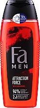 Parfémy, Parfumerie, kosmetika Sprchový gel - Fa Attraction Force Shower Gel