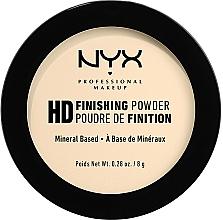 Parfémy, Parfumerie, kosmetika Fixační pudr - NYX Professional Makeup High Definition Finishing Powder
