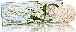 Parfémy, Parfumerie, kosmetika Sada mýdel Lanýž - Saponificio Artigianale Fiorentino Lily Of The Valley Scented Soap