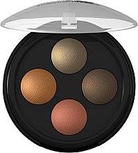 Parfémy, Parfumerie, kosmetika Oční stíny - Lavera Illuminating Eyeshadow Quattro