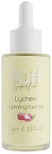 """Parfémy, Parfumerie, kosmetika Hydratační pleťové mléko """"Liči"""" - Fluff Lychee Hydrating Face Milk"""