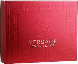 Parfémy, Parfumerie, kosmetika Versace Eros Flame - Sada (edt/50ml+sh/gel/50ml+ash/balm/50ml)