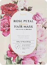 Parfémy, Parfumerie, kosmetika Vyživující maska-čepice na vlasy - Petitfee&Koelf Rose Petal Satin Hair Mask