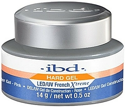 Parfémy, Parfumerie, kosmetika Gel na nehty, růžový - IBD French Xtreme Pink Gel