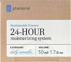 Parfémy, Parfumerie, kosmetika Krém 24 hodinový účinek, zvlhčující - Phenome 24 Hour Moisturizing System Cream