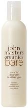 Parfémy, Parfumerie, kosmetika Kondicionér pro všechny typy vlasů - John Masters Organics Bare Unscented Detangler