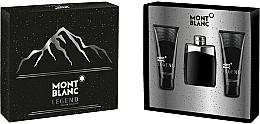 Parfémy, Parfumerie, kosmetika Montblanc Legend - Sada (edt/100ml+ash/balm/100ml+sh/gel/100ml)