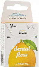 "Parfémy, Parfumerie, kosmetika Dentální nit ""Citron"" - The Humble Co. Dental Floss Lemon"