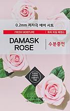 Parfémy, Parfumerie, kosmetika Ultra tenká pleťová maska s extraktem z damašské růže - Etude House Therapy Air Mask Damask Rose