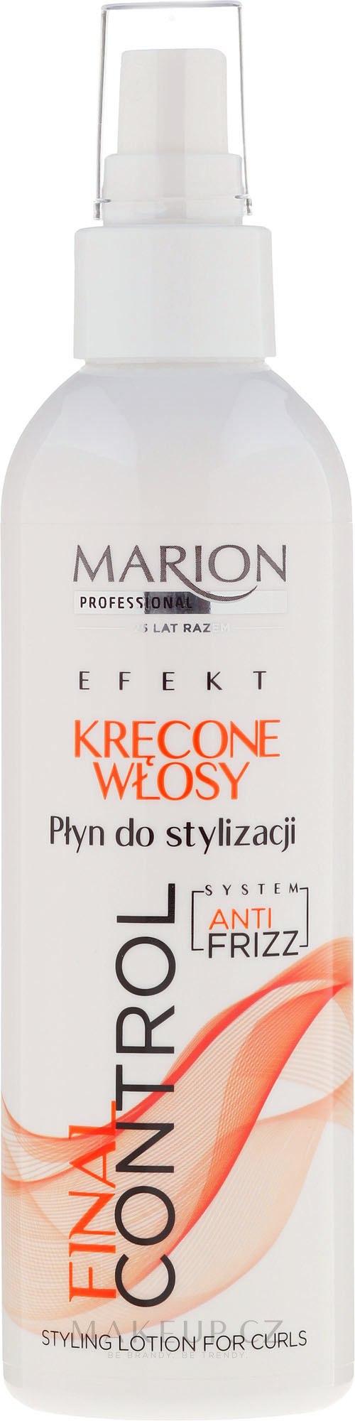 Mléko pro styling kudrnatých vlasů - Marion Final Control Lotion — foto 200 ml