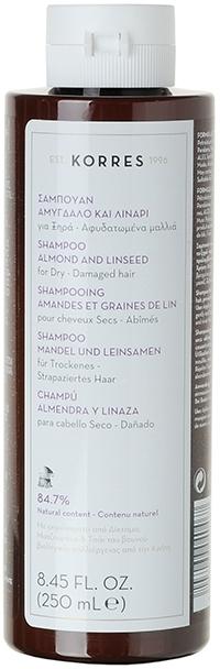 Šampon pro suché a poškozené vlasy - Korres Almond & Linseed Shampoo — foto N2