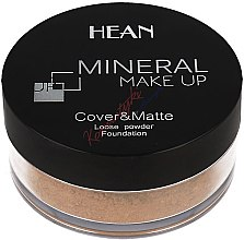 Parfémy, Parfumerie, kosmetika Minarální pudr na obličej - Hean Mineral Make Up Cover&Matte Loose Mineral Powder