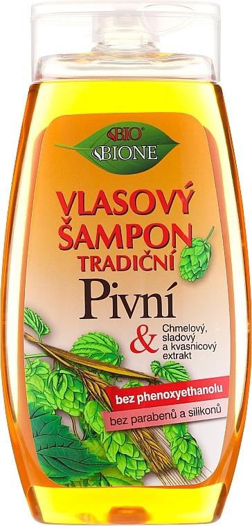 """Šampon na vlasy """"Pivný"""" - Bione Cosmetics Traditional Beer Hair Shampoo"""