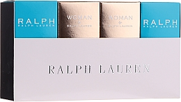 Parfémy, Parfumerie, kosmetika Ralph Lauren Mini Gift Set For Women - Sada (edt/2x7ml + edp/2x7ml)