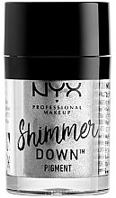 Parfémy, Parfumerie, kosmetika Pigment pro oči - NYX Professional Make Up Shimmer Down Pigment