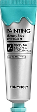 Parfémy, Parfumerie, kosmetika Pleťová maska - Tony Moly Painting Therapy Pack Hydrating & Soothing