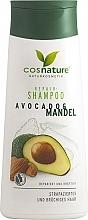 Parfémy, Parfumerie, kosmetika Regenerační šampon - Cosnature Repair Shampoo Almonds & Avocado