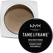 Parfémy, Parfumerie, kosmetika Pomáda na obočí - NYX Professional Makeup Tame & Frame Brow Pomade