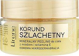 Parfémy, Parfumerie, kosmetika Minerální tělový peeling s medem - Lirene Dermo Program
