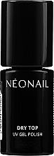 Parfémy, Parfumerie, kosmetika Bezvýpotkový vrchní UV gel pro gel lak - NeoNail Professional Top Dry