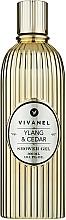 Parfémy, Parfumerie, kosmetika Sprchový gel Ylang-ylang a cedr - Vivian Gray Vivanel Ylang & Cedar