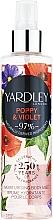 Parfémy, Parfumerie, kosmetika Yardley Poppy & Violet - Tělový sprej