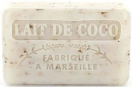 Parfémy, Parfumerie, kosmetika Marseille mýdlo Kokosové mléko - Foufour Savonnette Marseillaise