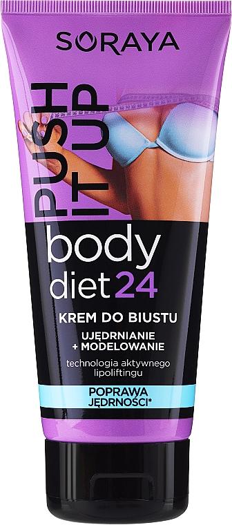 Krém na zpevnění poprsí - Soraya Body Diet 24 Bust cream