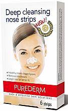 Parfémy, Parfumerie, kosmetika Čisticí pásky na nos - Purederm Deep Cleansing Nose Pore Strips