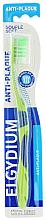 Parfémy, Parfumerie, kosmetika Zubní kartáček Anti-Plaque, měkký, zelený - Elgydium Anti-Plaque Soft Toothbrush