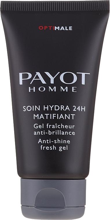 Osvěžující a matujicí gel - Payot Optimale Homme Soin Hydra 24H Matifiant  — foto N3