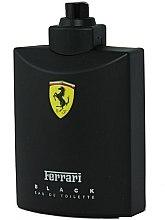Parfémy, Parfumerie, kosmetika Ferrari Black - Toaletní voda (tester bez víčka)
