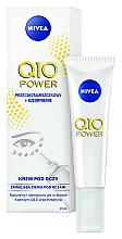 Parfémy, Parfumerie, kosmetika Krém při náznaku prvních vrásek - Nivea Visage Anti Wrinkle Q10 Plus Eye Cream