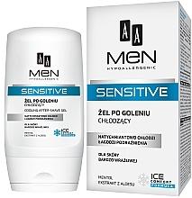 Parfémy, Parfumerie, kosmetika Gel po holení - AA Men Sensitive After-Shave Gel Cooling