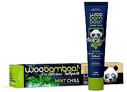 Parfémy, Parfumerie, kosmetika Zubní pasta s mátou a fluorem - Woobamboo Mint Chill Toothpaste With Fluoride