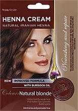 Krémová henna v hotovém stavu s lopuchovým olejem - Fito Kosmetik  — foto N3