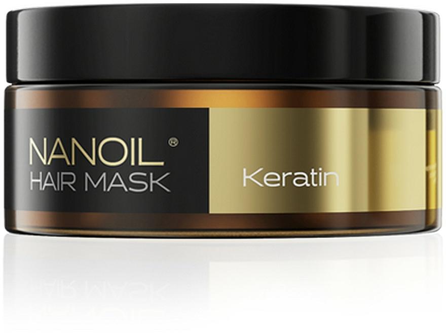 Maska na vlasy s keratinem - Nanoil Keratin Hair Mask
