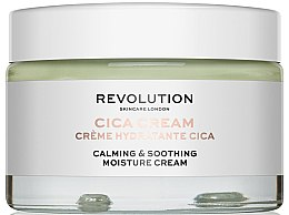 Parfémy, Parfumerie, kosmetika Hydratační krém - Revolution Skincare Cica Calming & Soothing Moisture Cream
